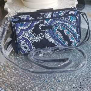 VERA BRADLEY ICONIC DELUXE ALL TOGETHER CROSSBODY